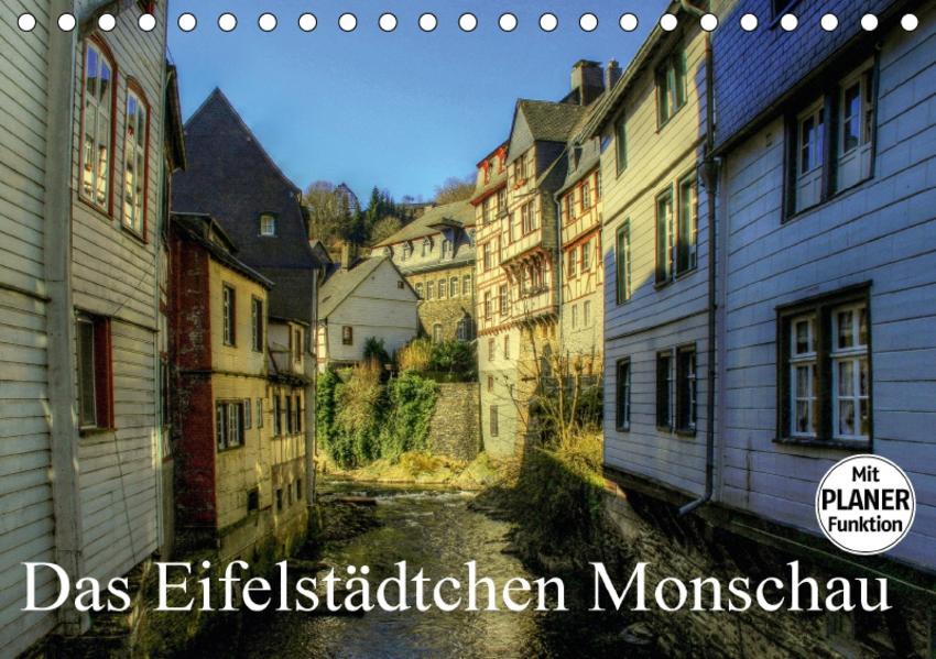 Das Eifelstädtchen Monschau (Tischkalender 2017 DIN A5 quer) - Coverbild