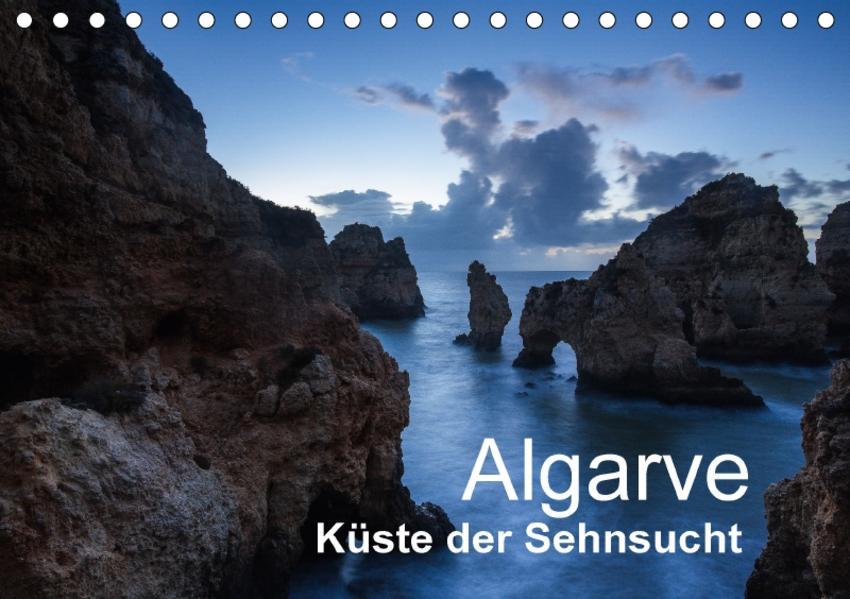 Algarve - Küste der Sehnsucht (Tischkalender 2017 DIN A5 quer) - Coverbild
