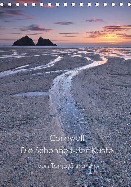 Cornwall - Die Schönheit der Küste (Tischkalender 2017 DIN A5 hoch) - Coverbild