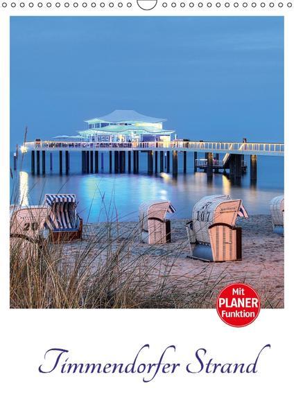 Timmendorfer Strand (Wandkalender 2017 DIN A3 hoch) - Coverbild