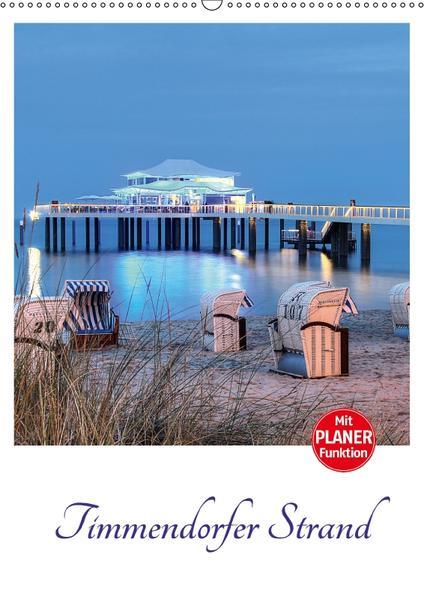 Timmendorfer Strand (Wandkalender 2017 DIN A2 hoch) - Coverbild