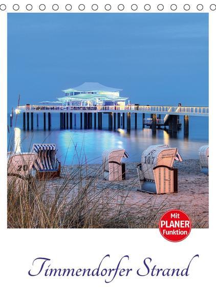 Timmendorfer Strand (Tischkalender 2017 DIN A5 hoch) - Coverbild