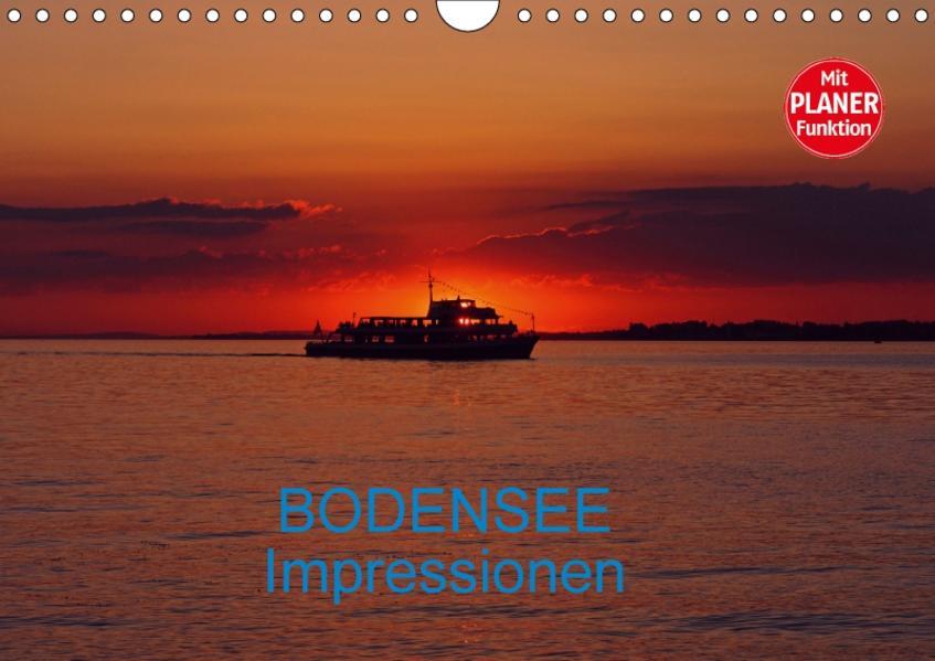 Bodensee Impressionen (Wandkalender 2017 DIN A4 quer) - Coverbild