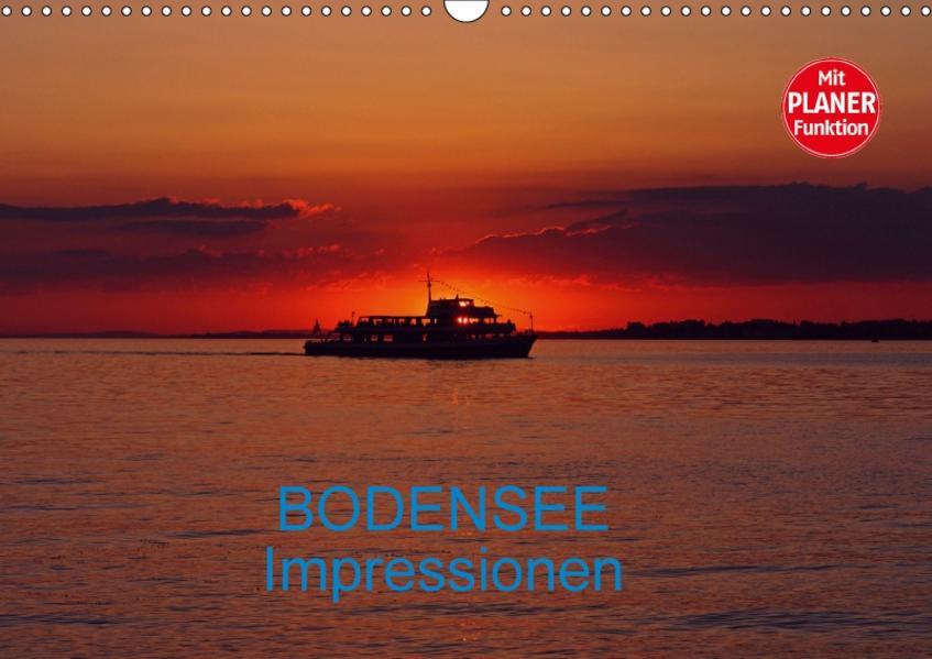 Bodensee Impressionen (Wandkalender 2017 DIN A3 quer) - Coverbild