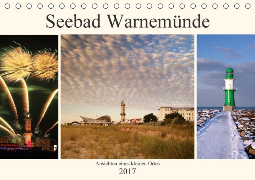Seebad Warnemünde (Tischkalender 2017 DIN A5 quer) - Coverbild