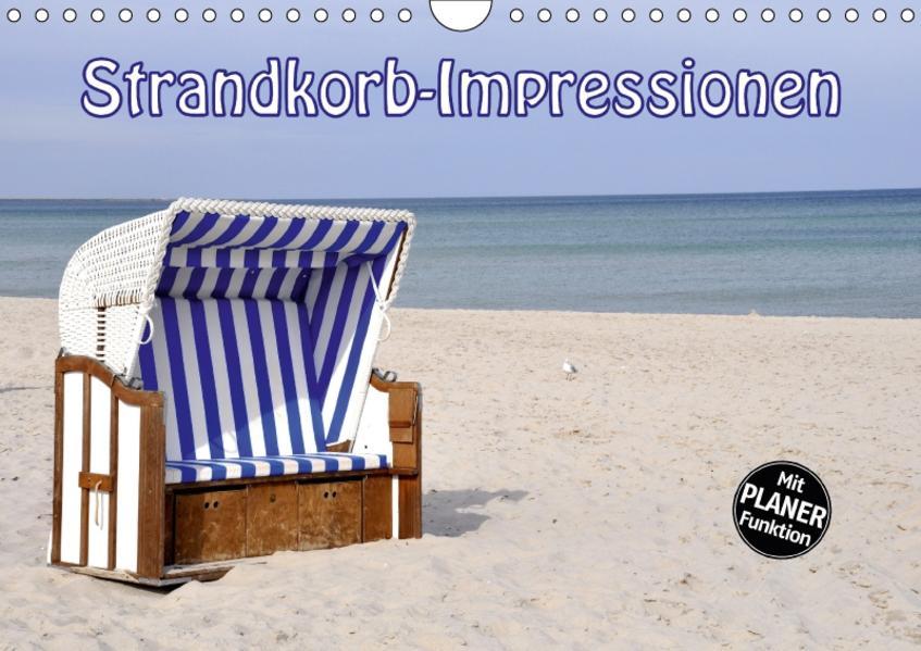 Strandkorb-Impressionen (Wandkalender 2017 DIN A4 quer) - Coverbild