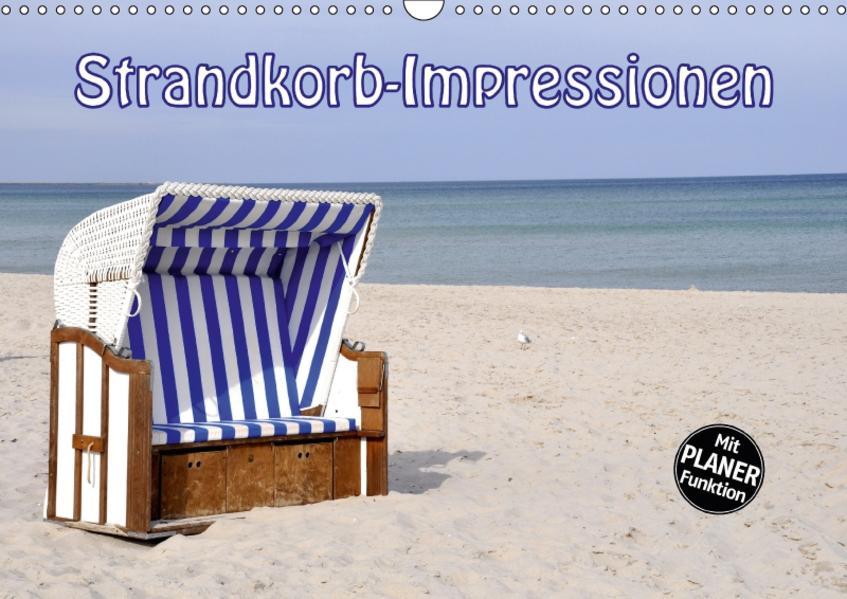 Strandkorb-Impressionen (Wandkalender 2017 DIN A3 quer) - Coverbild