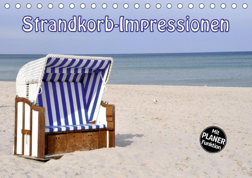 Strandkorb-Impressionen (Tischkalender 2017 DIN A5 quer) - Coverbild