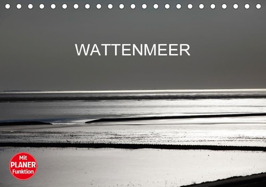 Wattenmeer (Tischkalender 2017 DIN A5 quer) - Coverbild