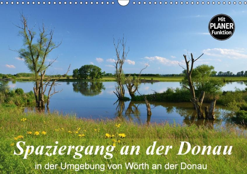 Spaziergang an der Donau (Wandkalender 2017 DIN A3 quer) - Coverbild