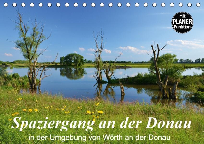 Spaziergang an der Donau (Tischkalender 2017 DIN A5 quer) - Coverbild