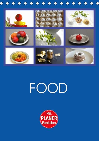 Food (Tischkalender 2017 DIN A5 hoch) - Coverbild