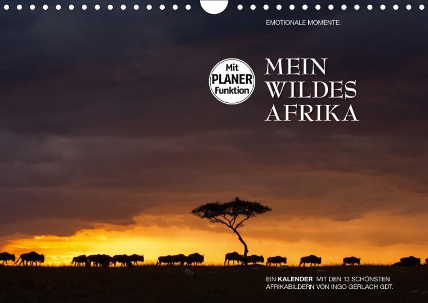Emotionale Momente: Mein wildes Afrika (Wandkalender 2017 DIN A4 quer) - Coverbild