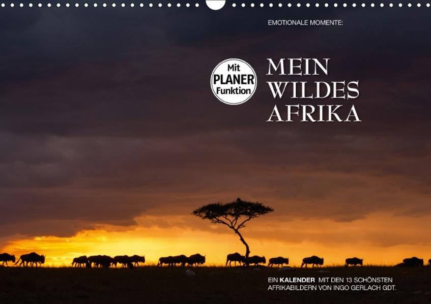 Emotionale Momente: Mein wildes Afrika (Wandkalender 2017 DIN A3 quer) - Coverbild