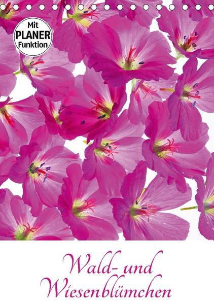 Wald- und Wiesenblümchen (Tischkalender 2017 DIN A5 hoch) - Coverbild
