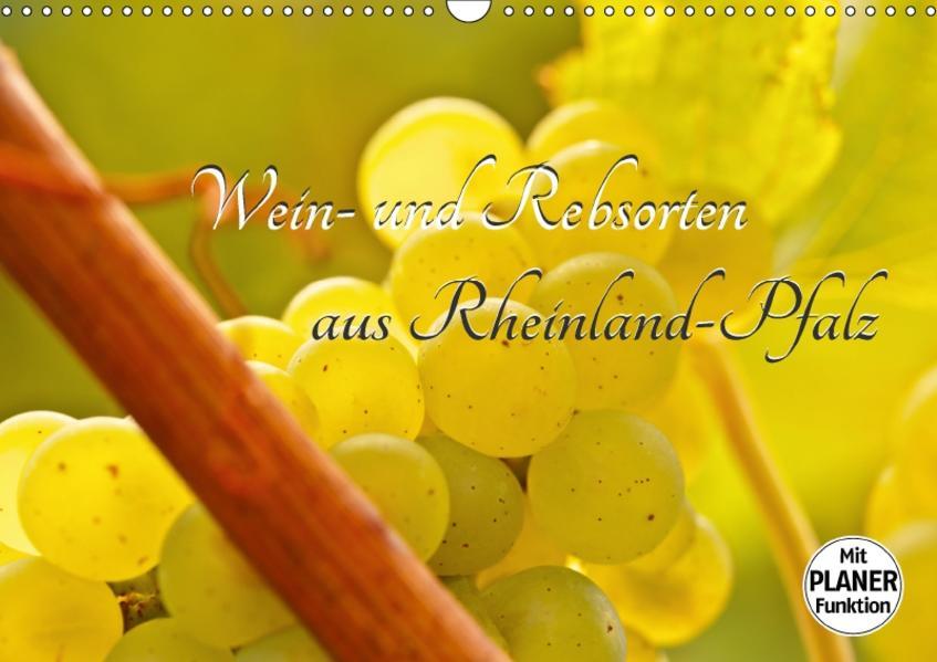Wein- und Rebsorten aus Rheinland-Pfalz (Wandkalender 2017 DIN A3 quer) - Coverbild