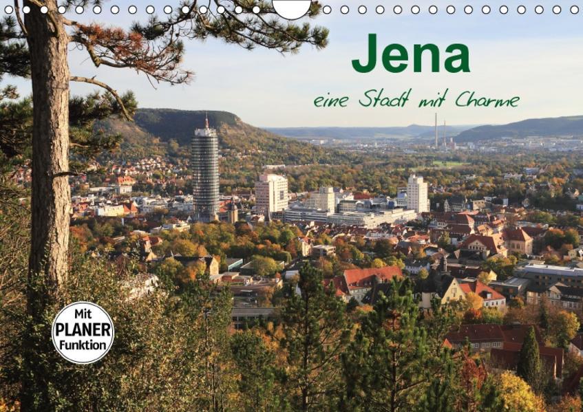 Jena in Thüringen (Wandkalender 2017 DIN A4 quer) - Coverbild