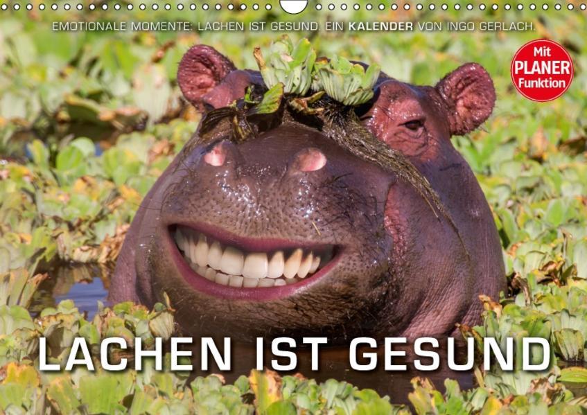 Emotionale Momente: Lachen ist gesund. (Wandkalender 2017 DIN A3 quer) - Coverbild