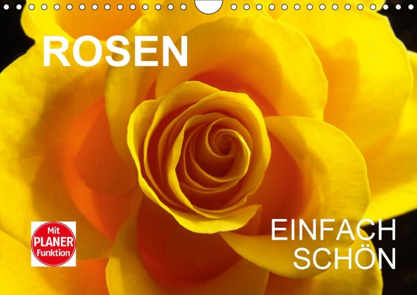 Rosen einfach schönCH-Version  (Wandkalender 2017 DIN A4 quer) - Coverbild