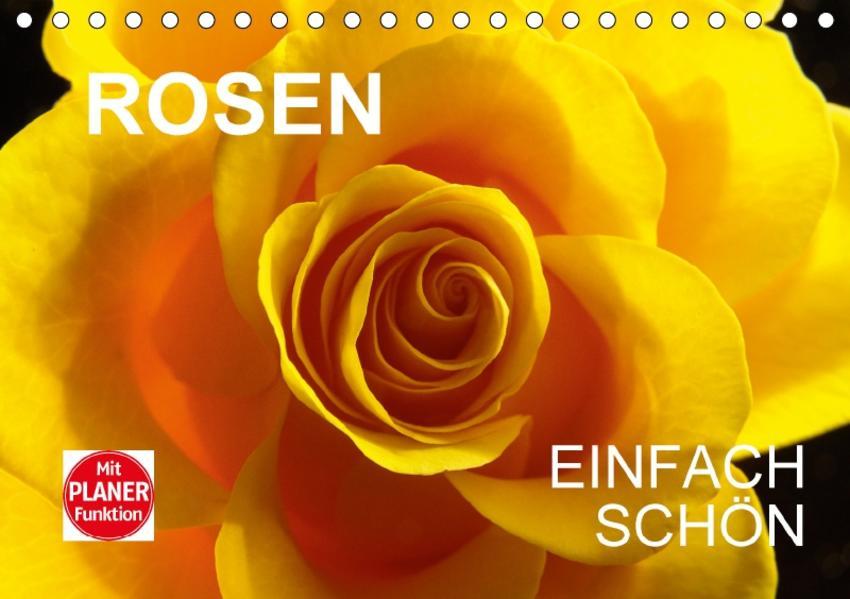 Rosen einfach schönCH-Version  (Tischkalender 2017 DIN A5 quer) - Coverbild