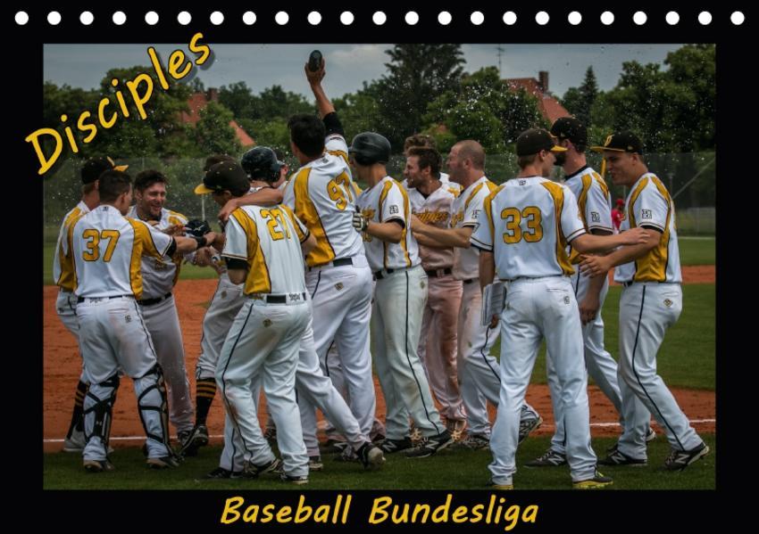 Disciples - Baseball Bundesliga (Tischkalender 2017 DIN A5 quer) - Coverbild