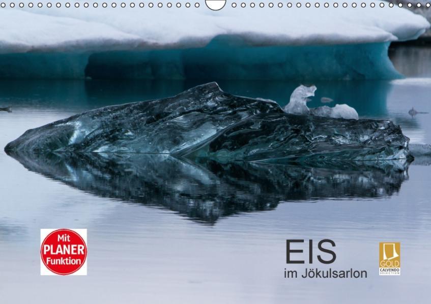 Eis im Jökulsarlon (Wandkalender 2017 DIN A3 quer) - Coverbild