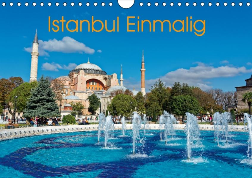 Istanbul Einmalig (Wandkalender 2017 DIN A4 quer) - Coverbild