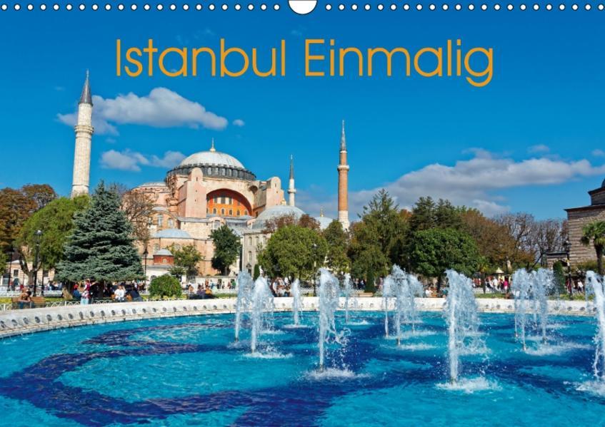 Istanbul Einmalig (Wandkalender 2017 DIN A3 quer) - Coverbild