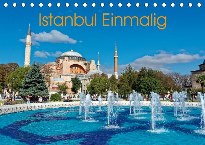 Istanbul Einmalig (Tischkalender 2017 DIN A5 quer) - Coverbild