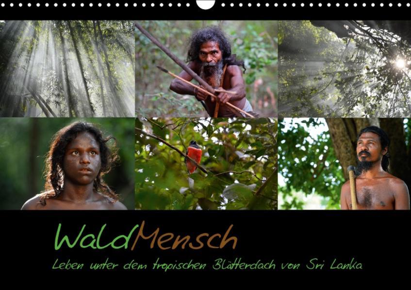 WaldMensch - Leben unter dem tropischen Blätterdach von Sri Lanka (Wandkalender 2017 DIN A3 quer) - Coverbild
