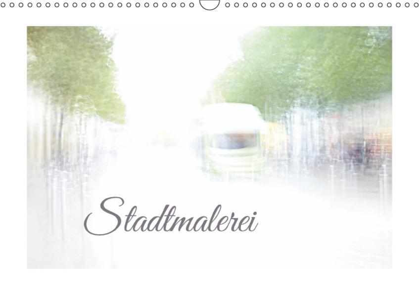 Stadtmalerei (Wandkalender 2017 DIN A3 quer) - Coverbild