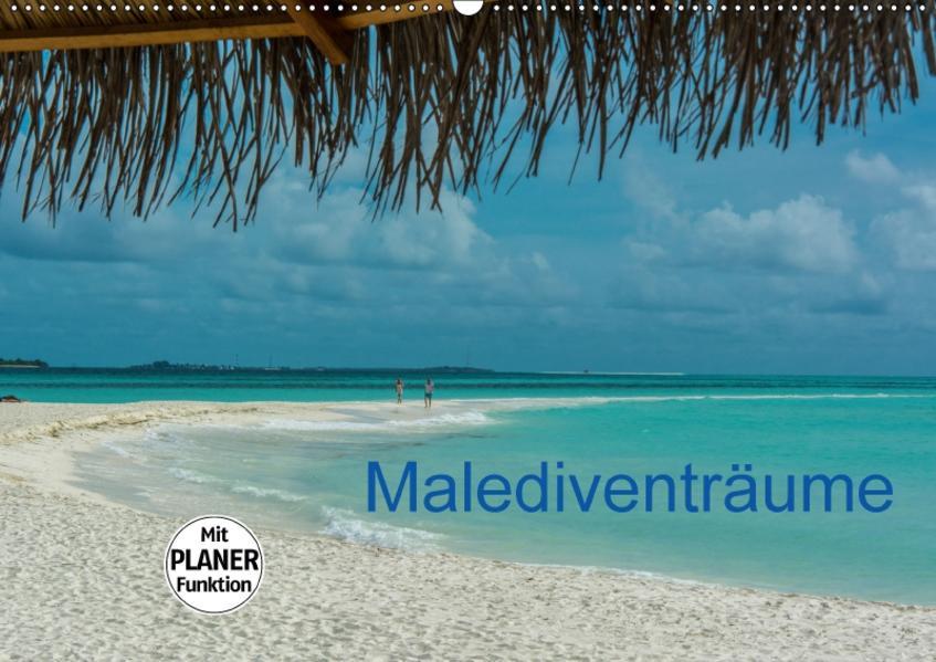 Malediventräume (Wandkalender 2017 DIN A2 quer) - Coverbild