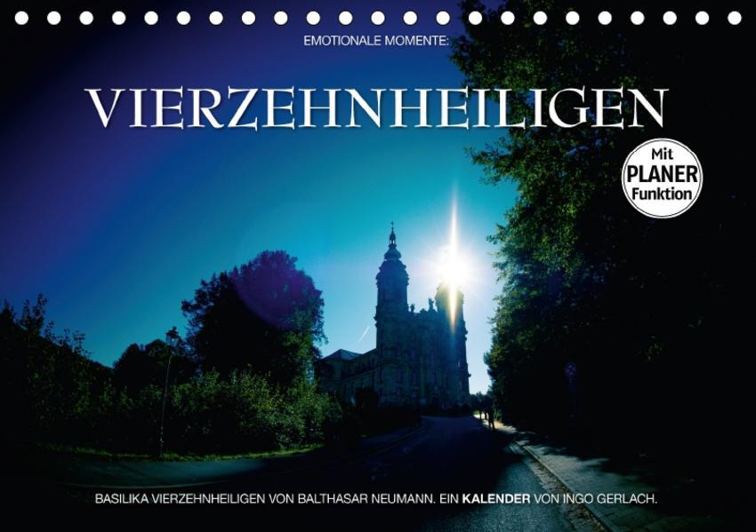 Vierzehnheiligen (Tischkalender 2017 DIN A5 quer) - Coverbild