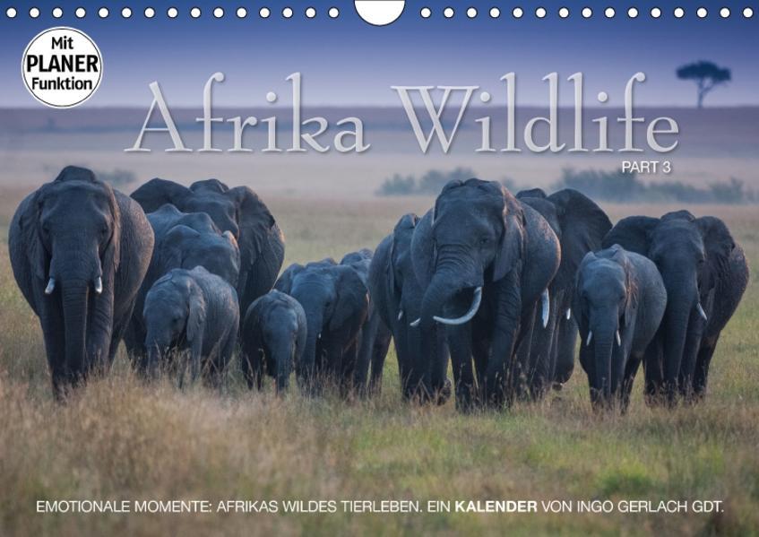 Emotionale Momente: Afrika Wildlife. Part 3. (Wandkalender 2017 DIN A4 quer) - Coverbild