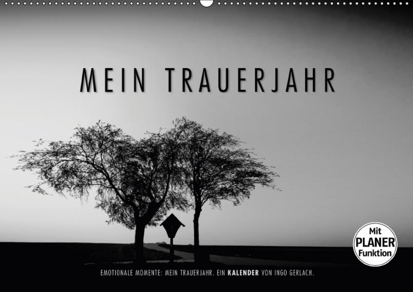 Emotionale Momente: Mein Trauerjahr (Wandkalender 2017 DIN A2 quer) - Coverbild