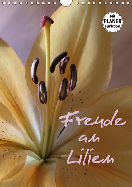 Freude an Lilien (Wandkalender 2017 DIN A4 hoch) - Coverbild