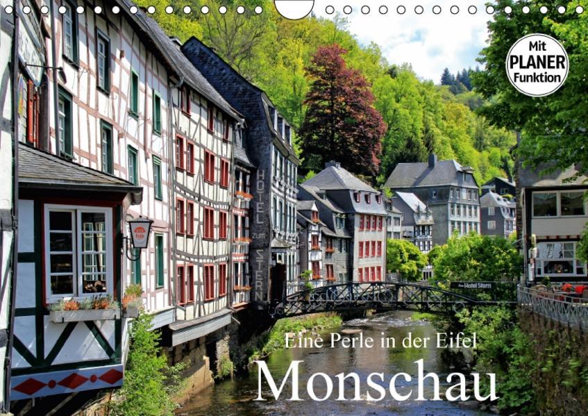 Eine Perle in der Eifel - Monschau (Wandkalender 2017 DIN A4 quer) - Coverbild