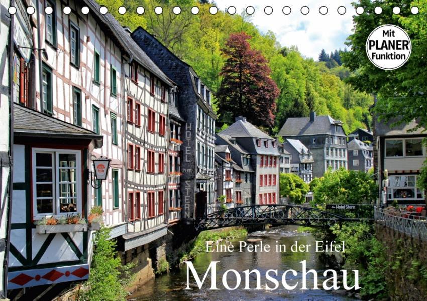 Eine Perle in der Eifel - Monschau (Tischkalender 2017 DIN A5 quer) - Coverbild