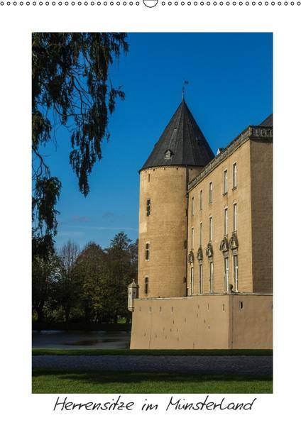 Herrensitze im Münsterland (Wandkalender 2017 DIN A2 hoch) - Coverbild
