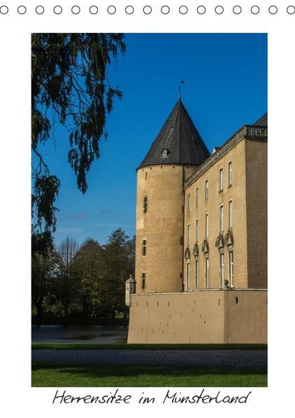 Herrensitze im Münsterland (Tischkalender 2017 DIN A5 hoch) - Coverbild