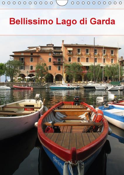 Bellissimo Lago di Garda (Wandkalender 2017 DIN A4 hoch) - Coverbild