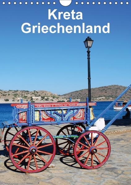 Kreta Griechenland (Wandkalender 2017 DIN A4 hoch) - Coverbild