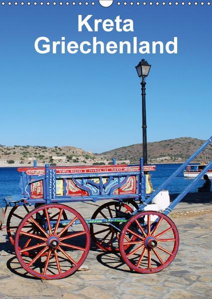 Kreta Griechenland (Wandkalender 2017 DIN A3 hoch) - Coverbild