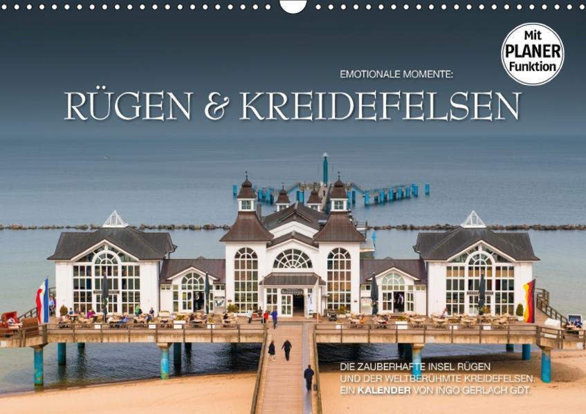 Emotionale Momente: Rügen und Kreidefelsen (Wandkalender 2017 DIN A3 quer) - Coverbild