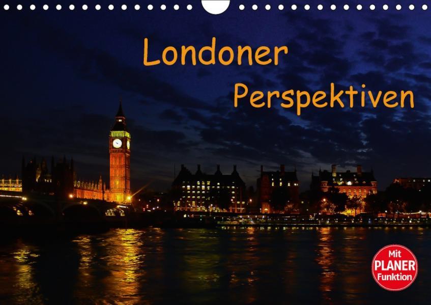 Londoner Perspektiven (Wandkalender 2017 DIN A4 quer) - Coverbild
