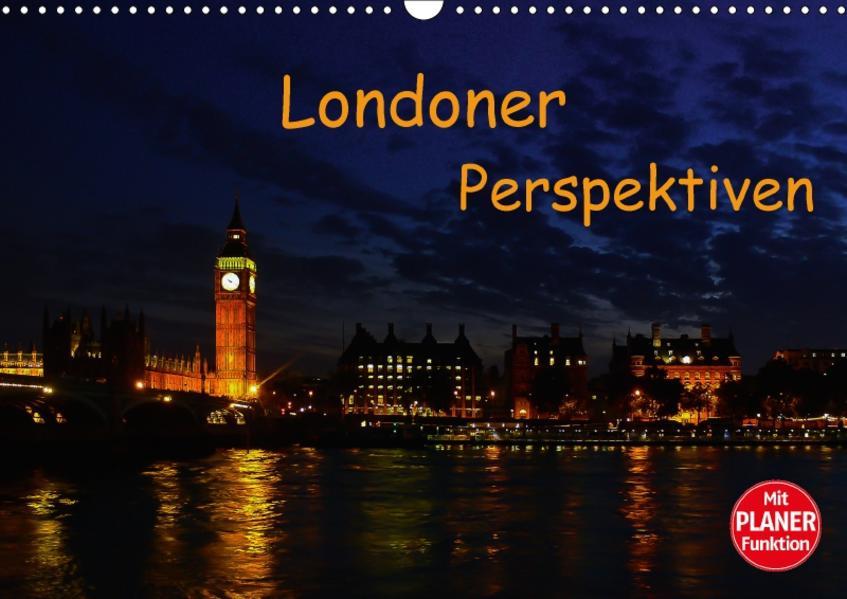 Londoner Perspektiven (Wandkalender 2017 DIN A3 quer) - Coverbild