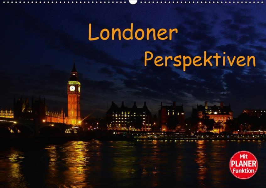 Londoner Perspektiven (Wandkalender 2017 DIN A2 quer) - Coverbild
