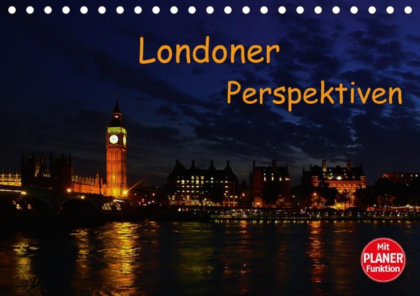 Londoner Perspektiven (Tischkalender 2017 DIN A5 quer) - Coverbild