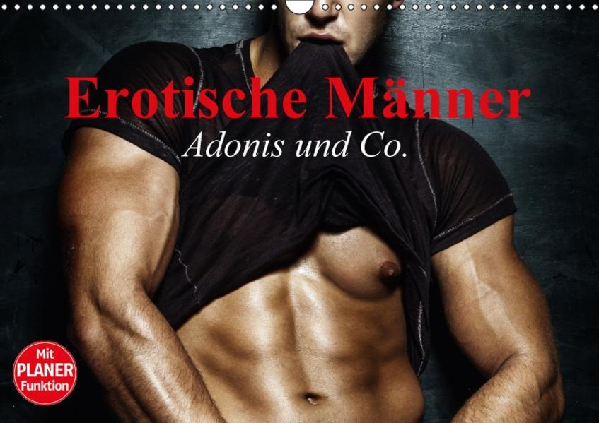 Erotische Männer. Adonis und Co. (Wandkalender 2017 DIN A3 quer) - Coverbild