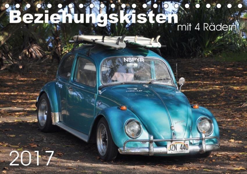 Beziehungskisten mit 4 Rädern (Tischkalender 2017 DIN A5 quer) - Coverbild